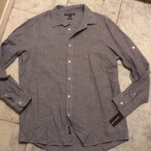 NWT Michael Kors Men's L button up shirt ($125.00)